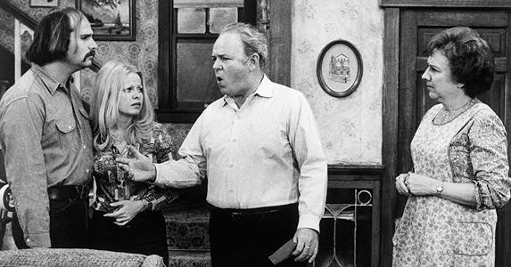 'All in the Family' © Bettmann/CORBIS