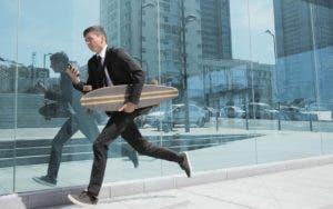 Man on job hunt