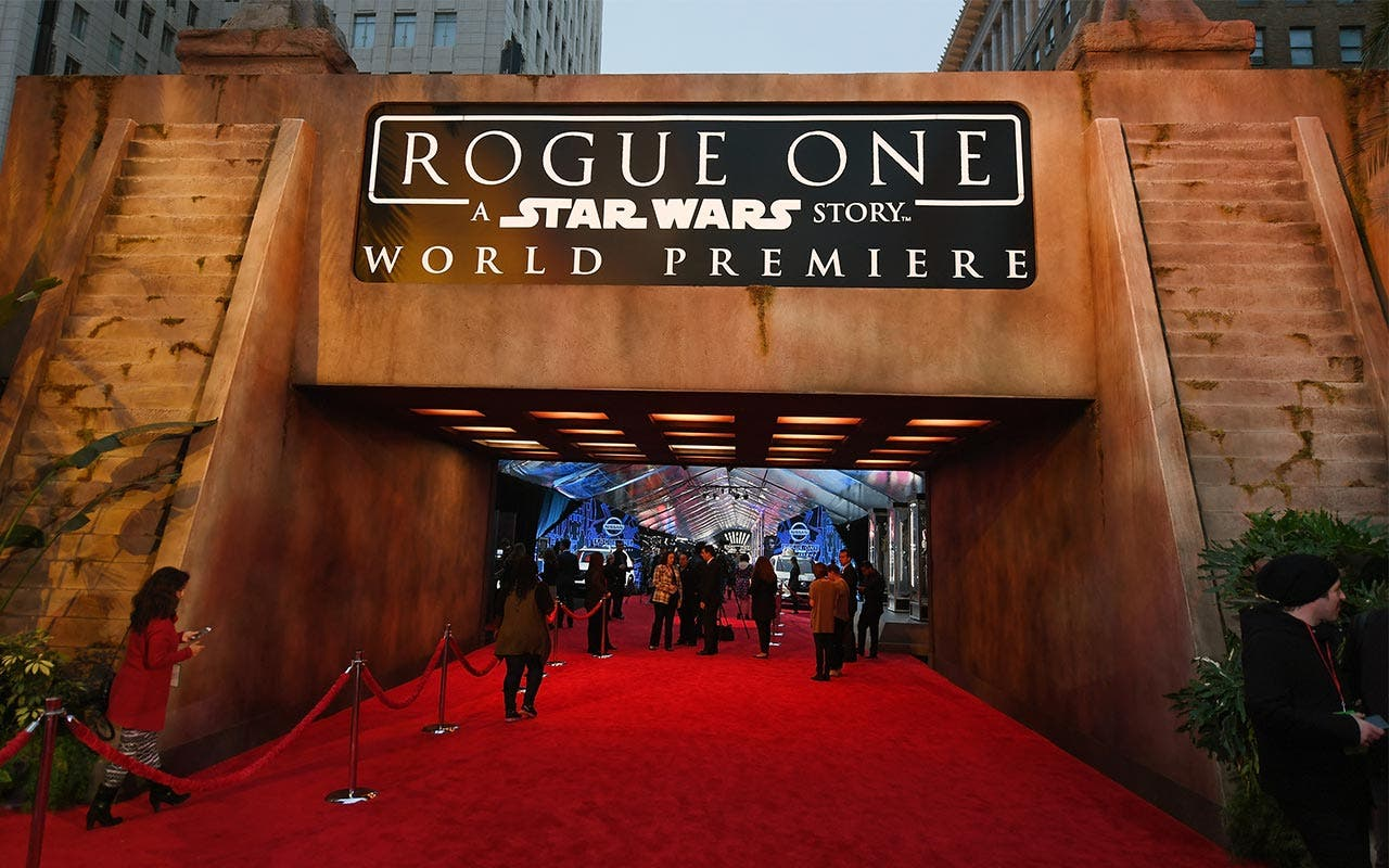 'Star Wars: Rogue One' premiere