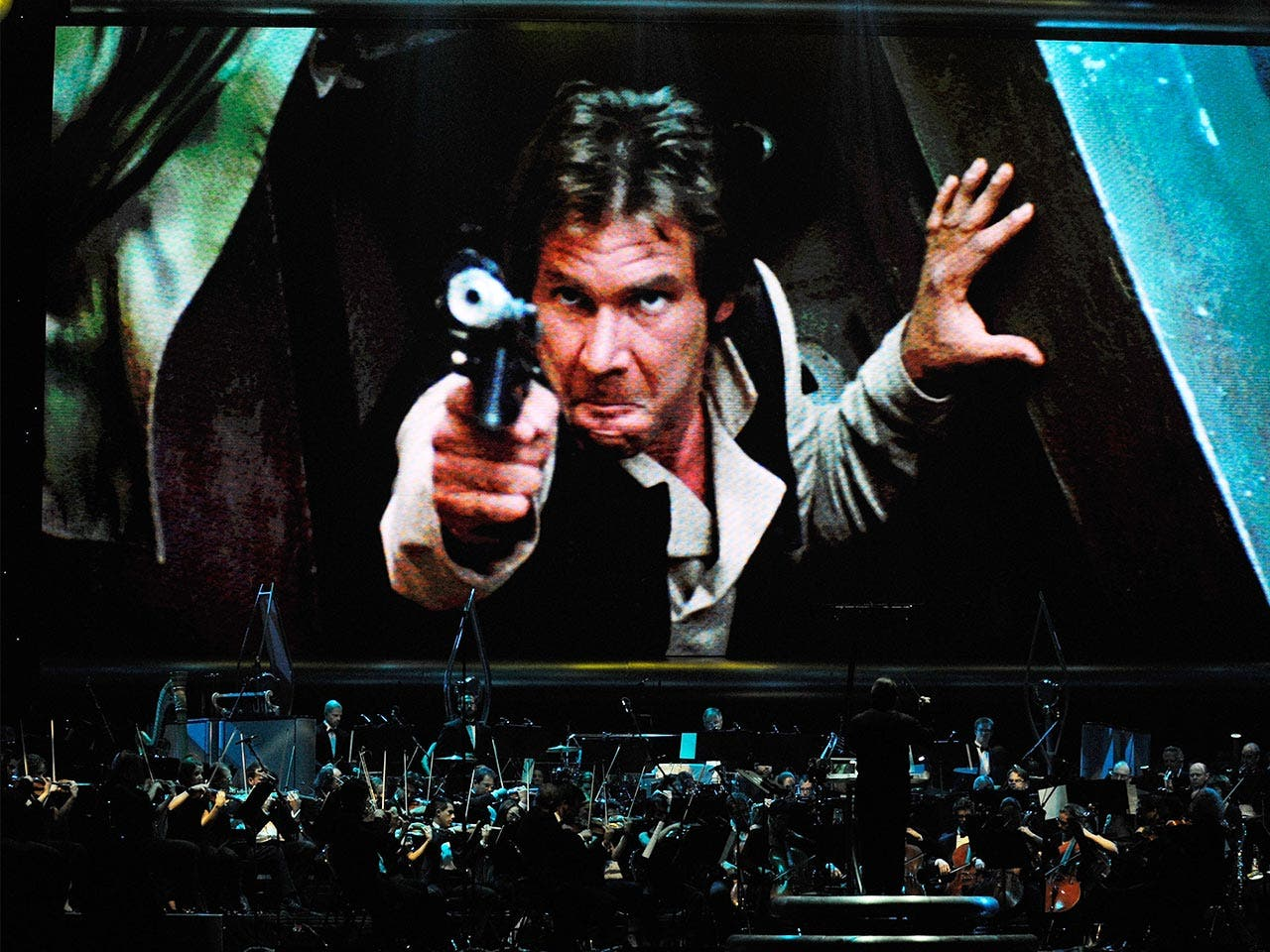 """Return of the Jedi"" with live orchestra"