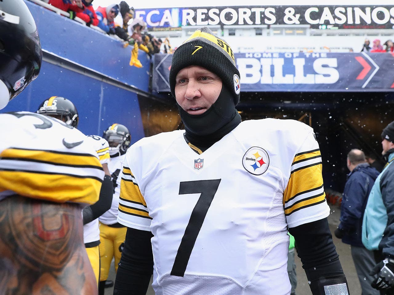 Ben Roethlisberger | Tom Szczerbowski/Getty Images
