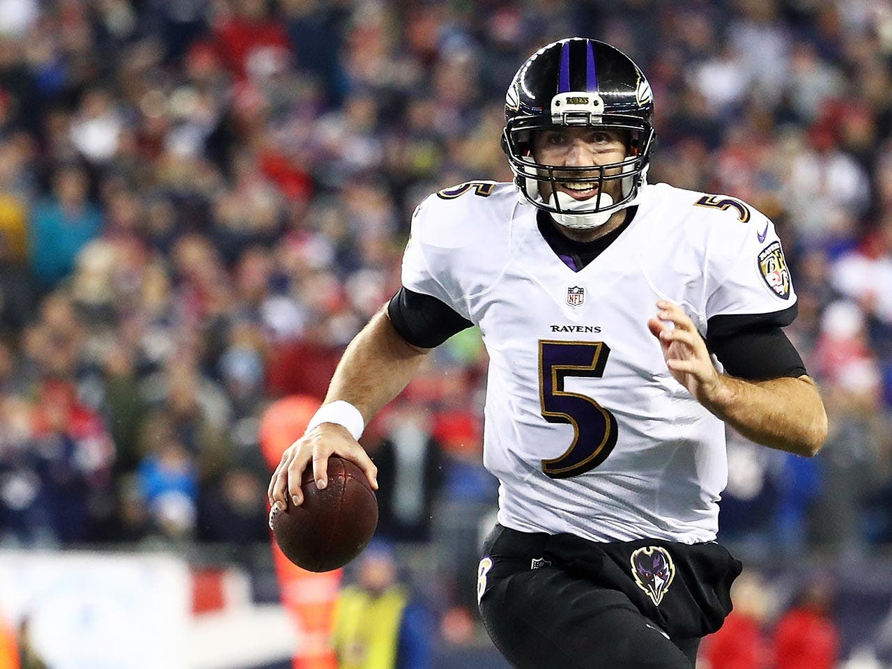 Joe Flacco | Adam Glanzman/Getty Images