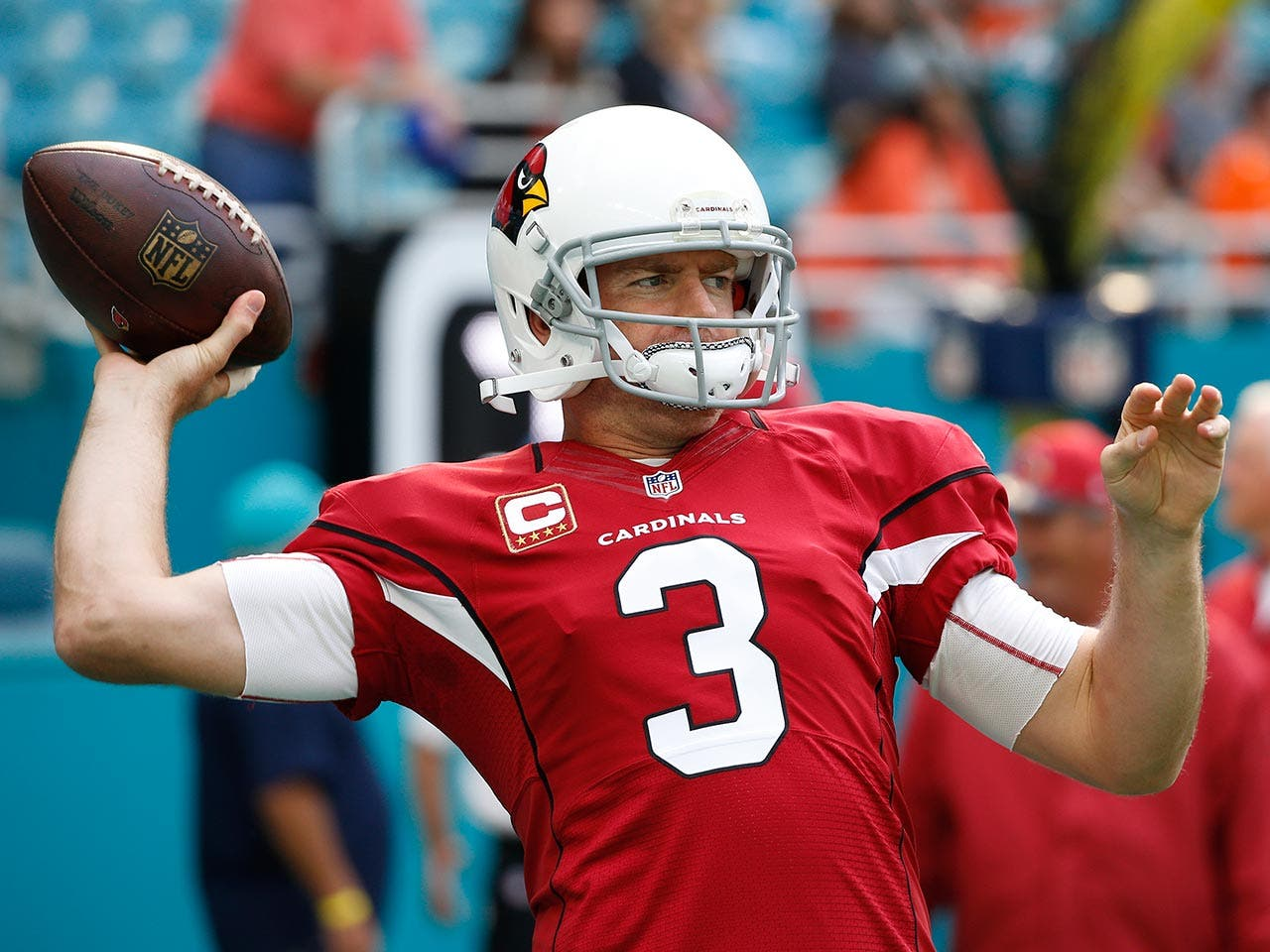 Carson Palmer | Joel Auerbach/Getty Images