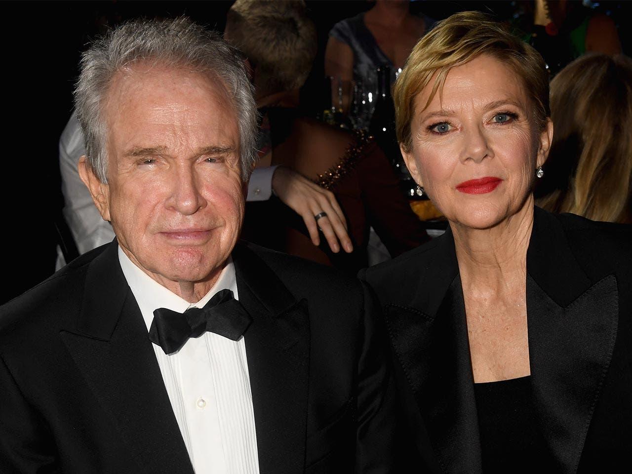 Warren Beatty and Annette Bening |Jeff Kravitz /Getty Image
