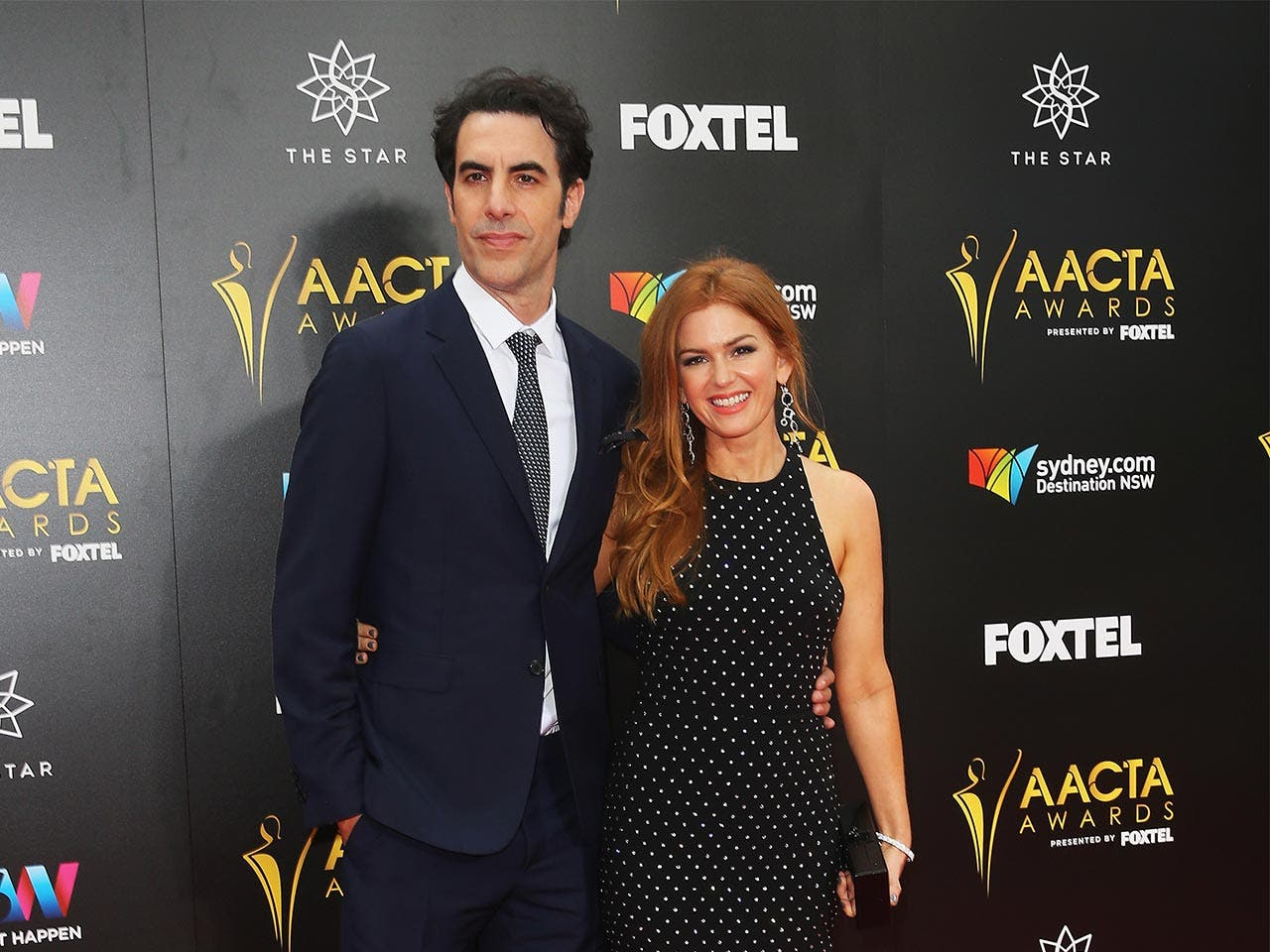 Sacha Baron Cohen and Isla Fisher | Don Arnold/Getty Images