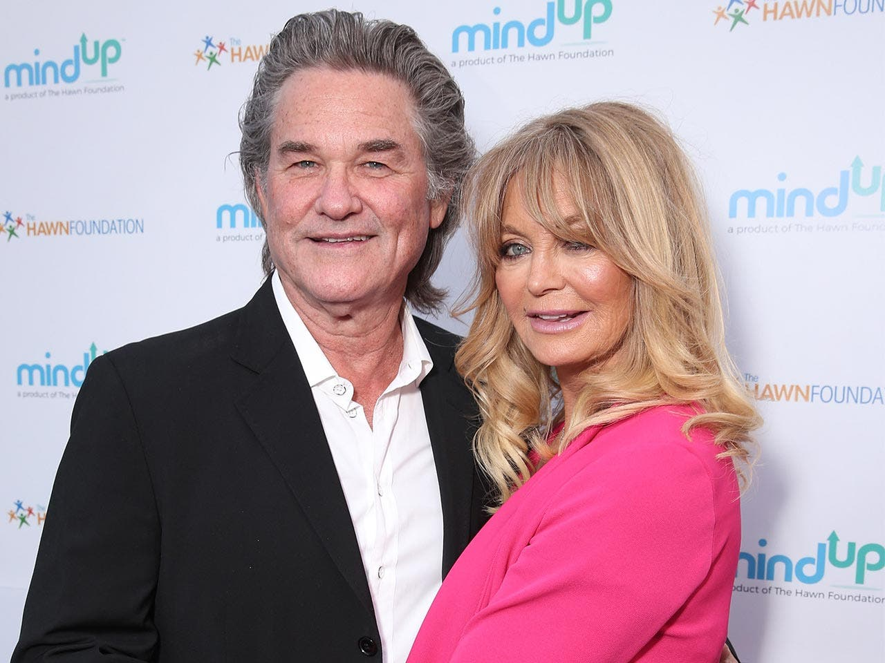 Kurt Russell and Goldie Hawn | Todd Williamson/Getty Images