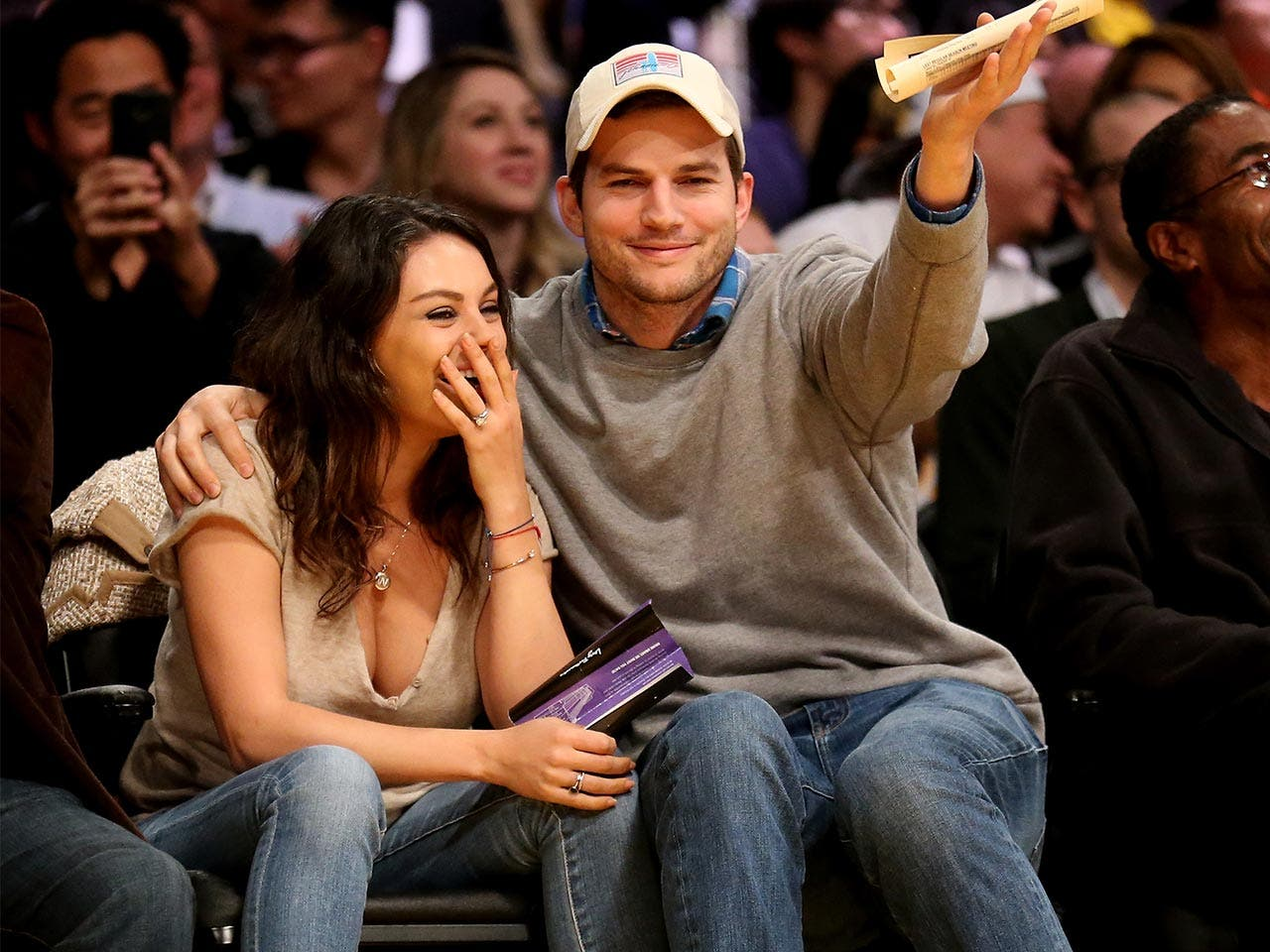 Hollywood power couple | Ashton Kutcher and Mila Kunis | Stephen Dunn/Getty Images
