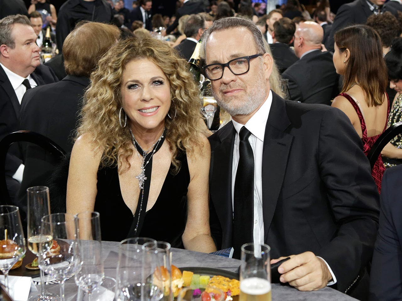 Tom Hanks and Rita Wilson | Tiffany Rose/Getty Images