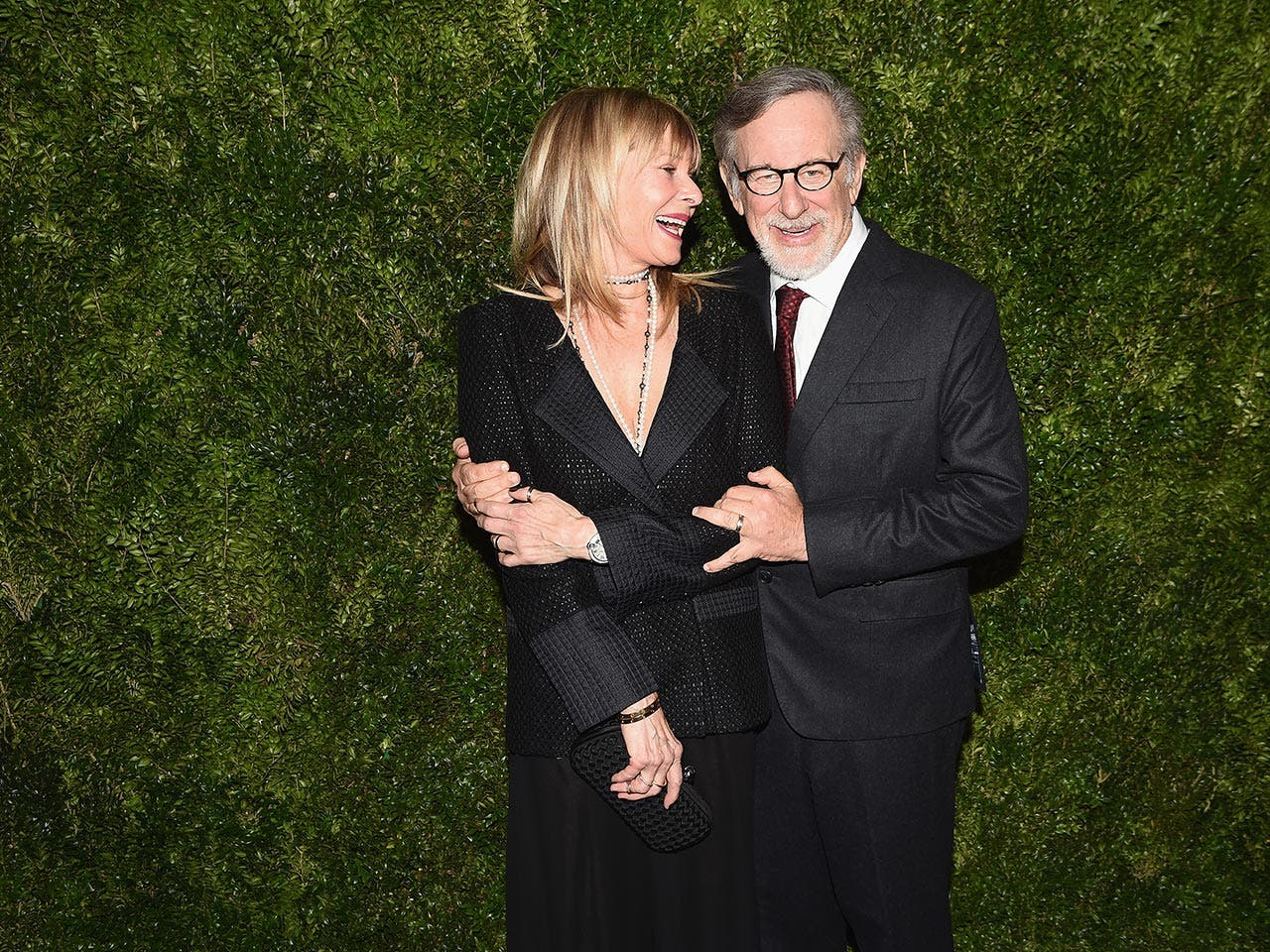 Steven Spielberg and Kate Capshaw | Nicholas Hunt/Getty Images