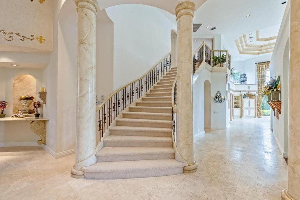 Ben Carson's house for sale: Stairs | Realtor.com