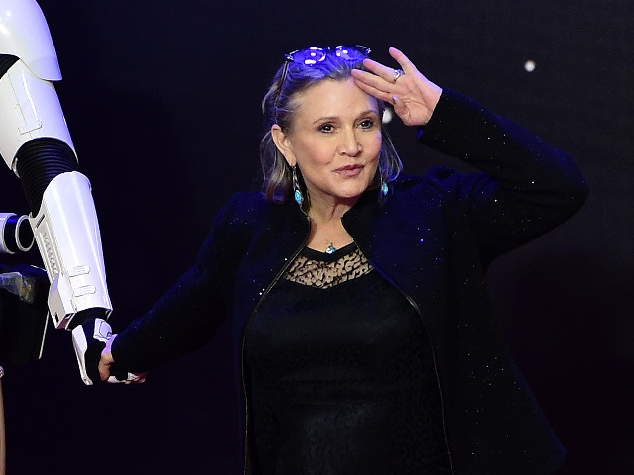 Carrie Fisher | LEON NEAL/AFP/Getty Images