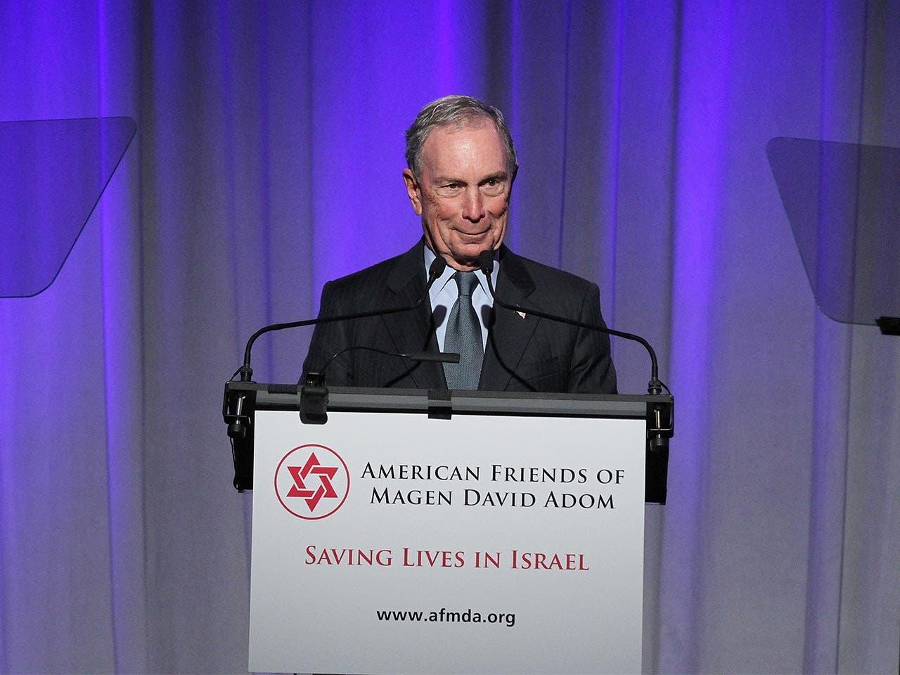 Michael Bloomberg | Bennett Raglin/Getty Images