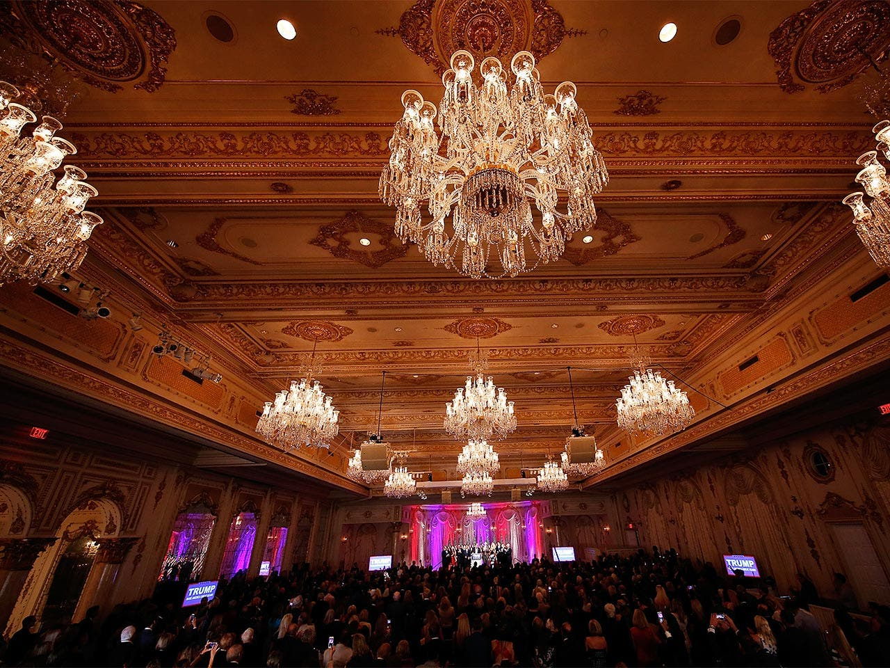 Mar-a-Lago ballroom | Win McNamee/Getty Images
