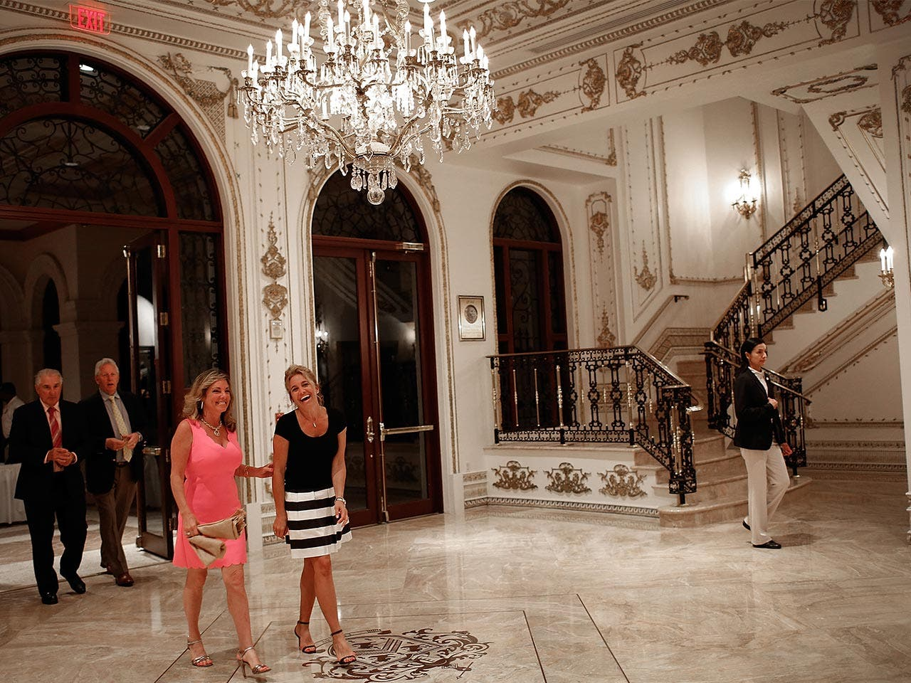 Guests coming in Mar-a-Lago | Win McNamee/Getty Images