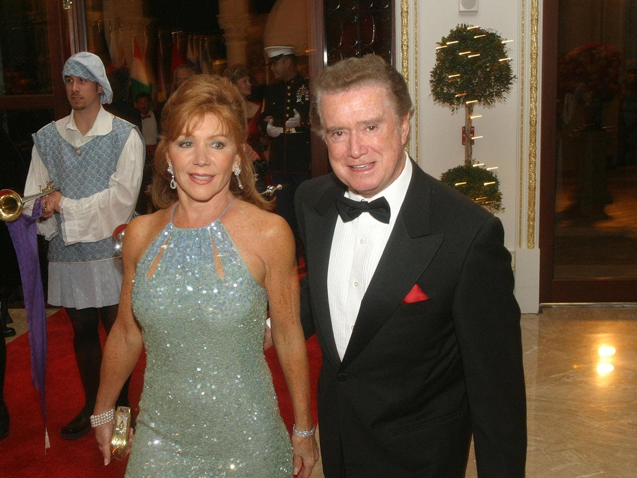Regis and Joy Philbin in Mar-a-Lago | CAPEHART/Getty Images