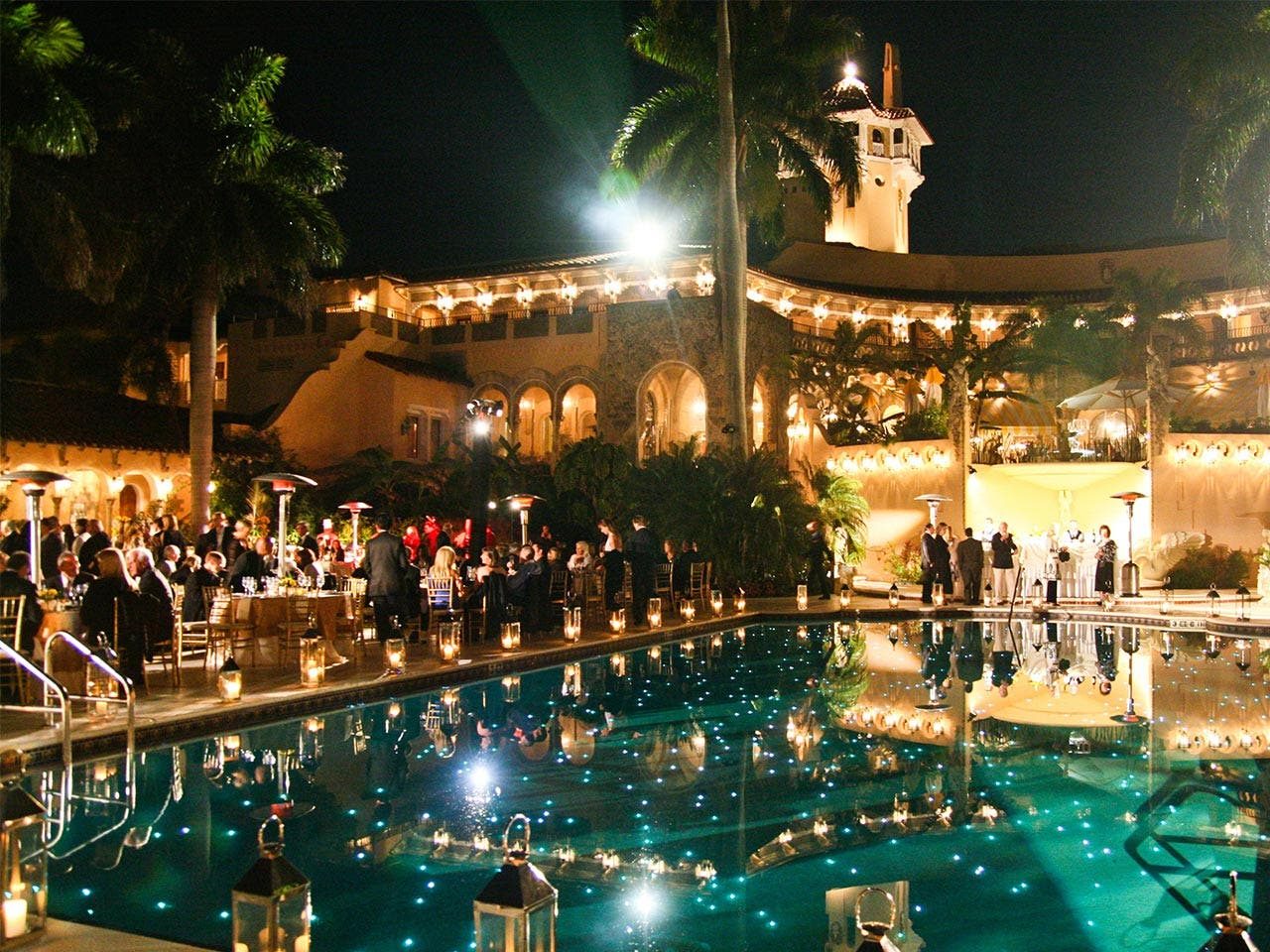 Mar-a-Lago pool | Lucien Capehart/Getty Images