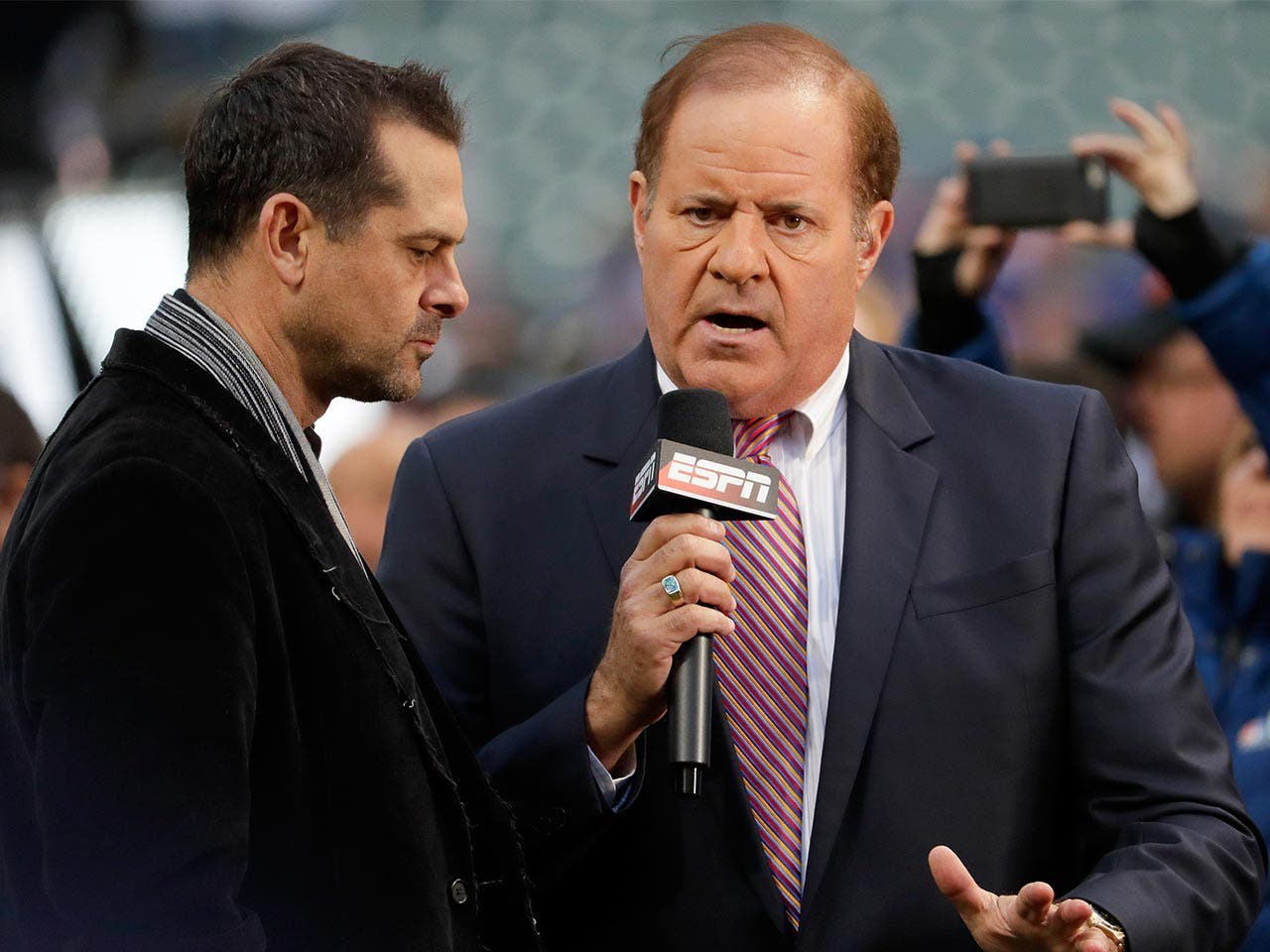 Chris Berman | Jamie Squire/Getty Images