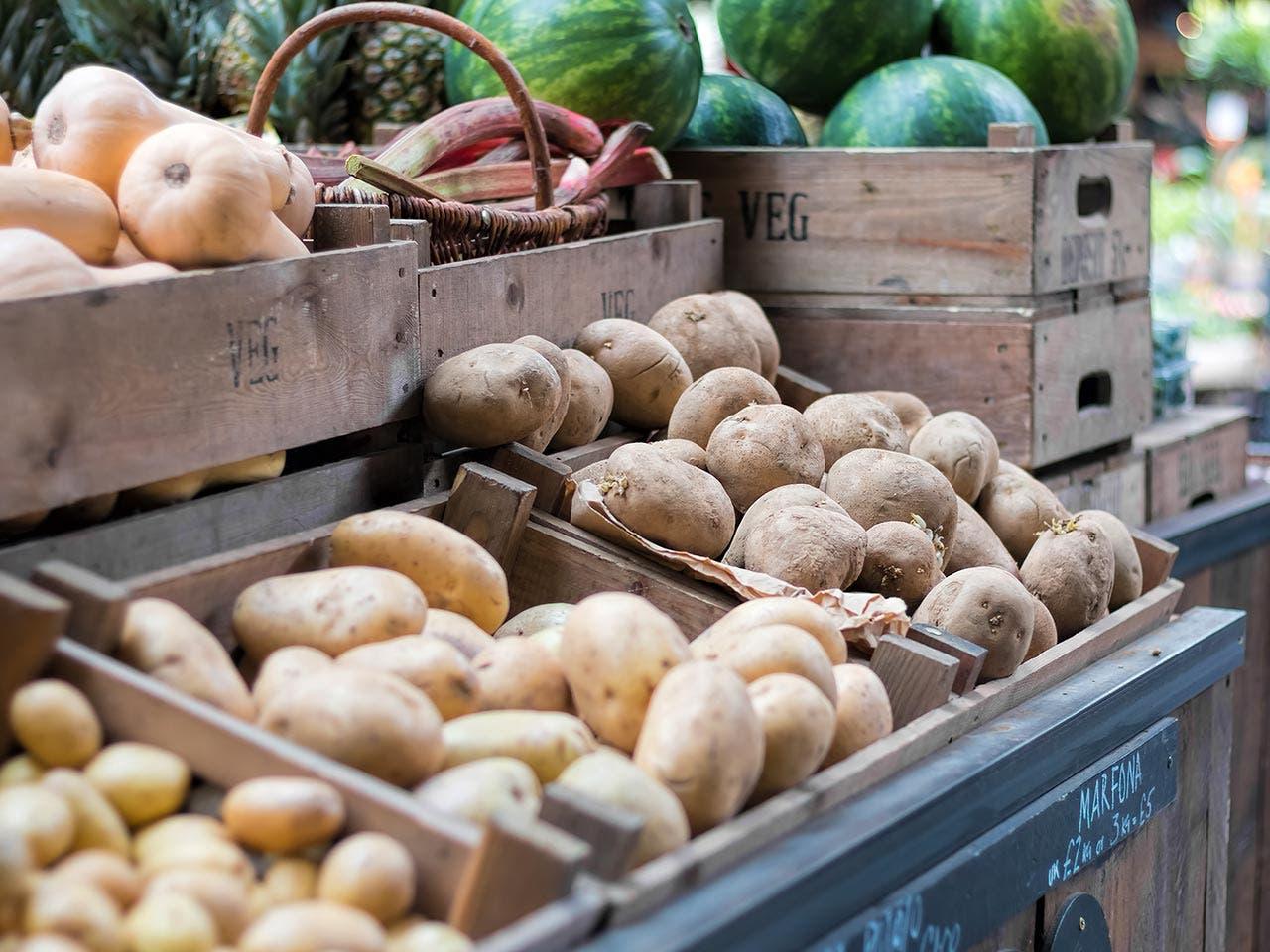 Potatoes | jgolby/Shutterstock.com