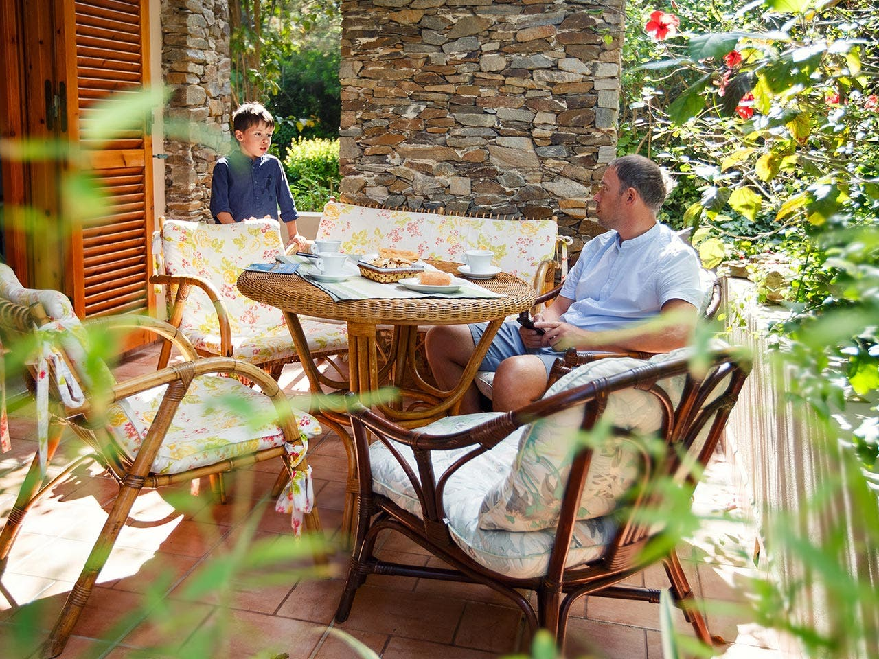 Patio furniture | Levranii/Shutterstock.com