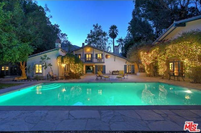 Cary Grant's house: Pool | Redfin