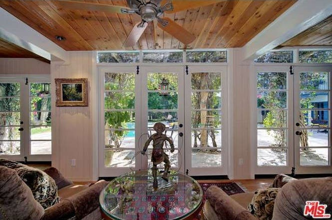 Cary Grant's house: Pool view   Redfin