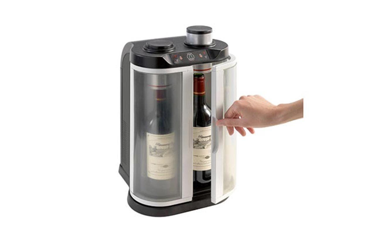 Two Wine Bottle Chiller and Preserver | Courtesy of Amazon