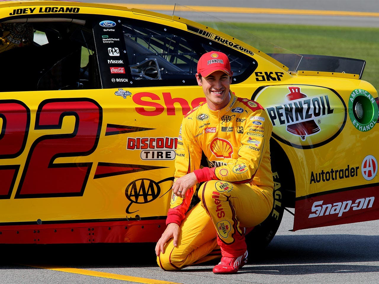 Joey Logano | Jerry Markland/Getty Images