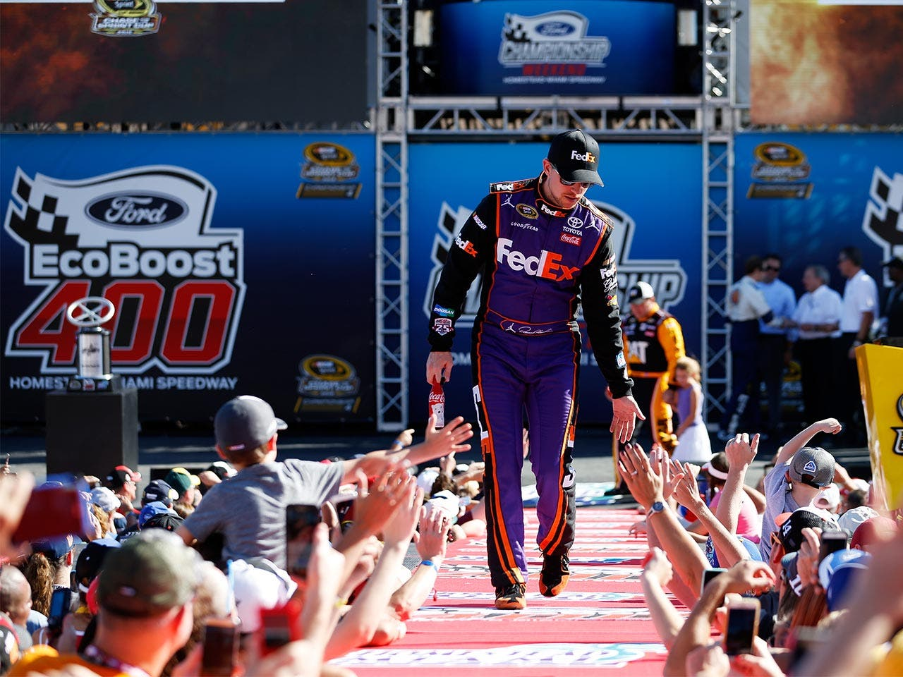 Denny Hamlin | Chris Trotman/Getty Images