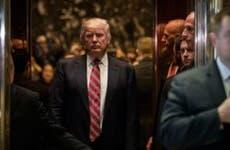 President Donald Trump at Trump Tower