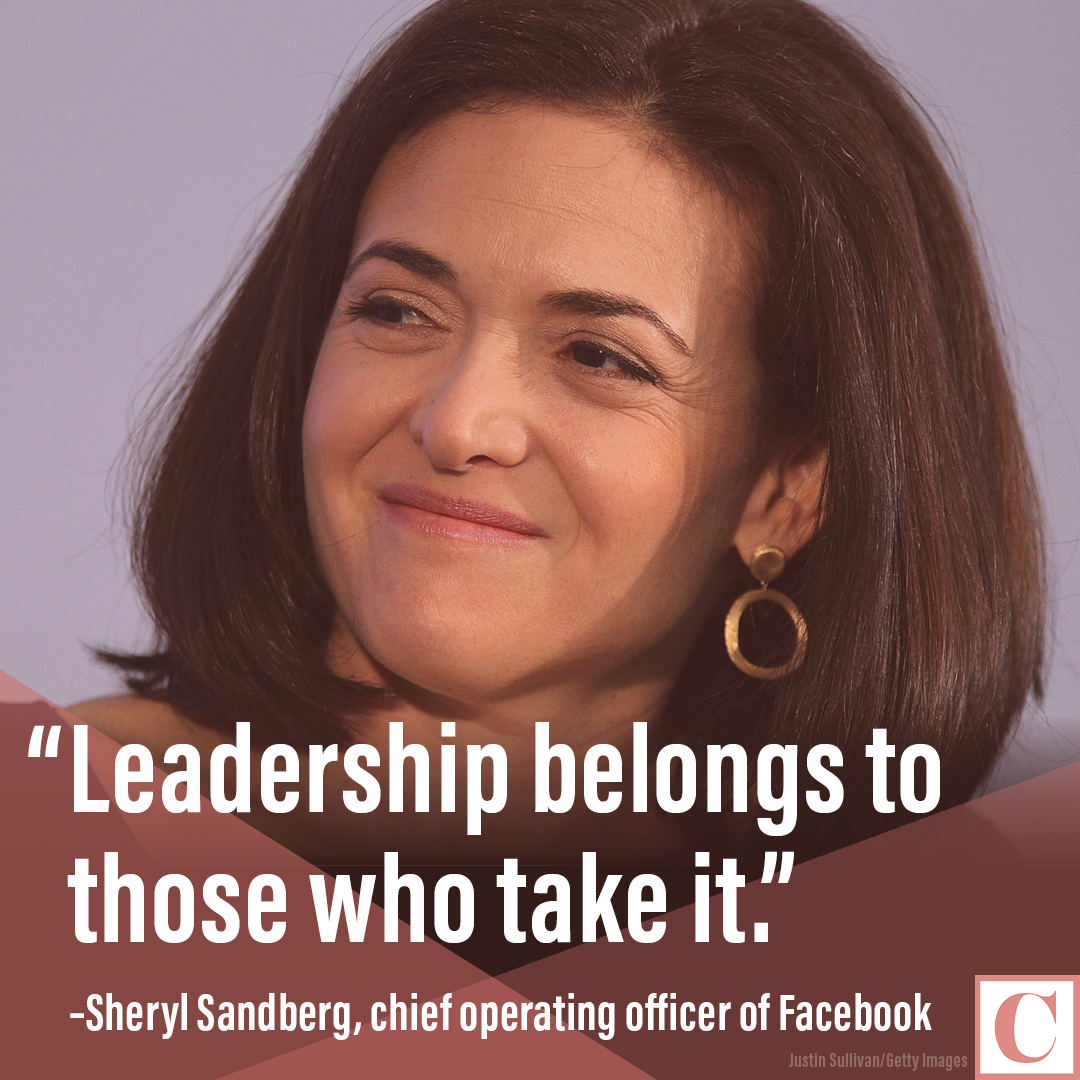 sheryl sandberg quote card