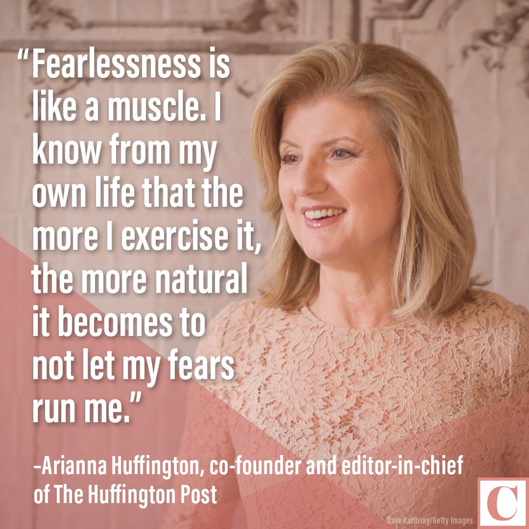 Arianna Huffington quote card