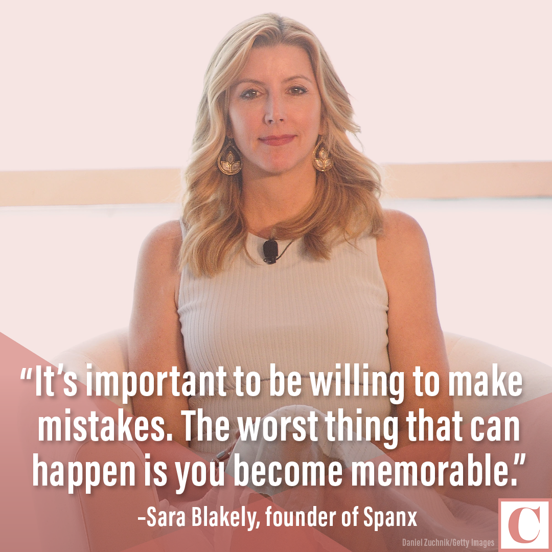 Sara Blakely quote card