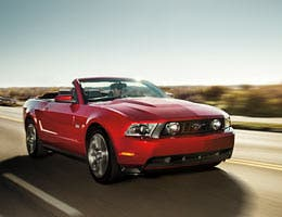 2012 Ford Mustang V-6 Convertible