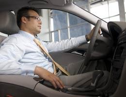 Test-drive the car