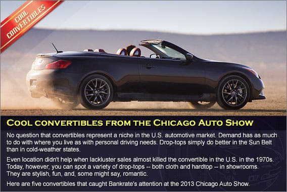 Cool convertibles from the Chicago Auto Show