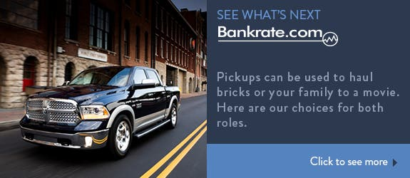 Pickups can be used to haul bricks or your family to a movie. Here are our choices for both roles.