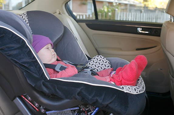 Turn a child forward facing too soon Photo courtesy of NHTSA