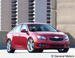 Chevrolet Cruze LS © General Motors