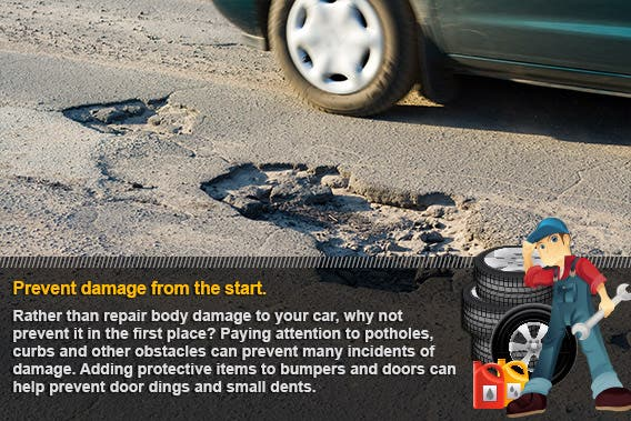 Prevent damage from the start | © Julien_N/Shutterstock.com