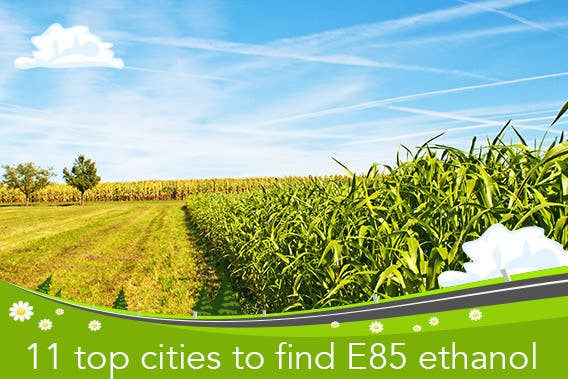 The 11 top cities to find E85 ethanol | © hjschneider/Shutterstock.com