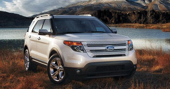 Ford Explorer Limited © Ford Motor Company