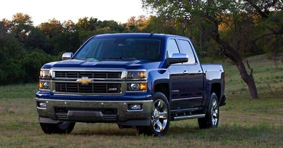 Chevrolet Silverado LTZ Crew Cab © General Motors
