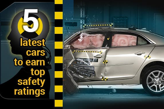 5 latest cars to earn top safety ratings for General motors retiree death benefits