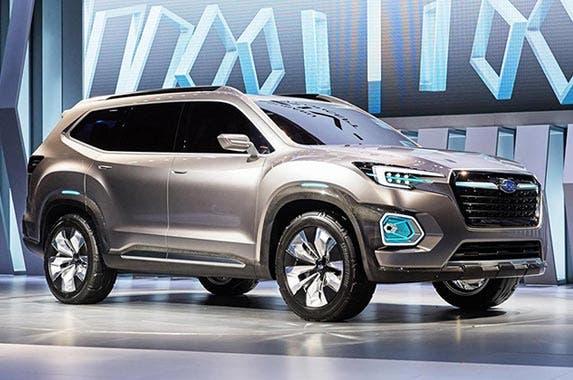 Subaru Viziv-7 concept © Subaru