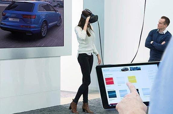 Virtual reality retail experience | Audi