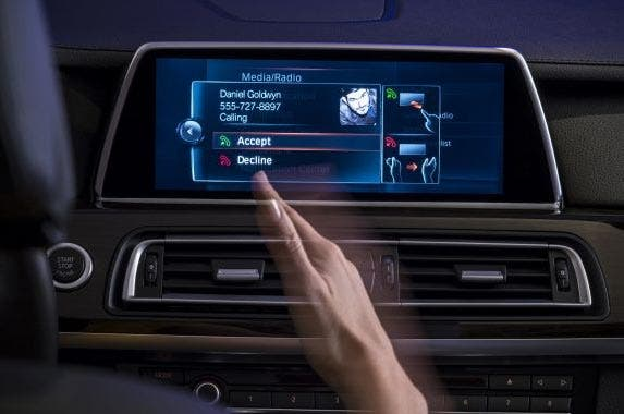 AirTouch screen | BMW