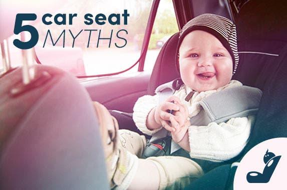 5 major myths about car seats © iStock