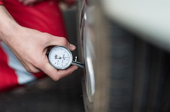 Check your tires regularly | Westend61/Getty Images