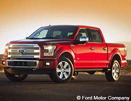 Ford F-150 © Ford Motor Company