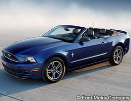 Ford Mustang V-6 Premium Convertible © Ford Motor Company